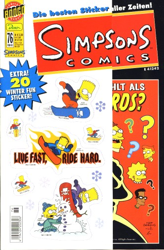 Simpsons Comic Nr. 76