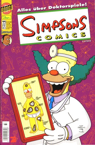 Simpsons Comic Nr. 77