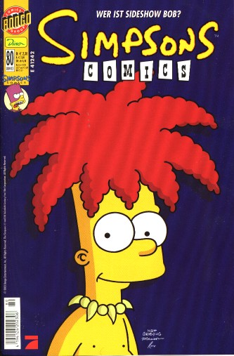 Simpsons Comic Nr. 80
