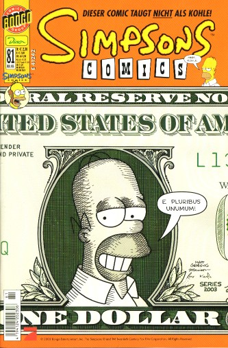 Simpsons Comic Nr. 81