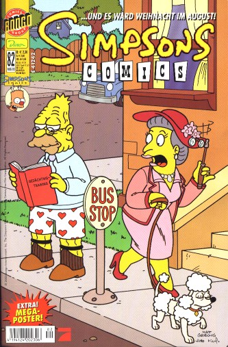 Simpsons Comic Nr. 82