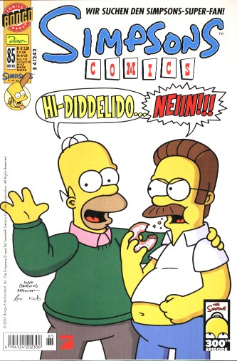 Simpsons Comic Nr. 85