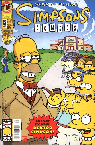 Simpsons Comic Nr. 87