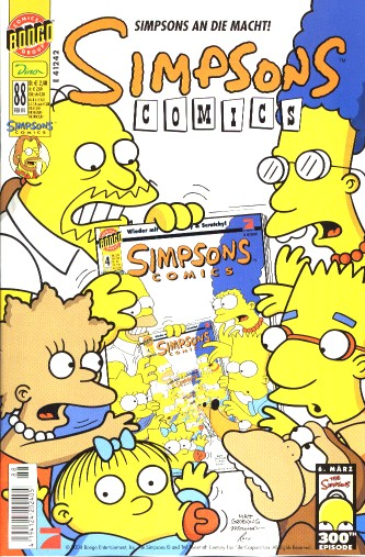 Simpsons Comic Nr. 88