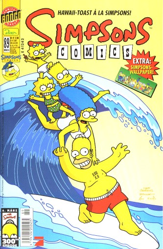 Simpsons Comic Nr. 89
