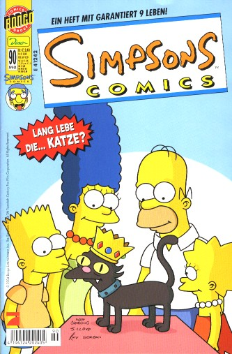 Simpsons Comic Nr. 90