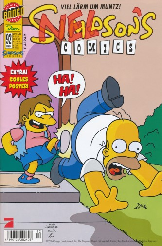 Simpsons Comic Nr. 92