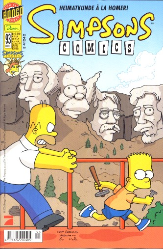 Simpsons Comic Nr. 93