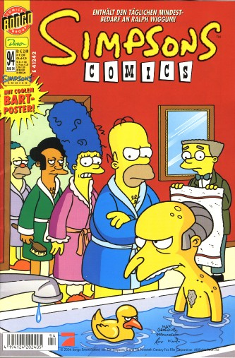 Simpsons Comic Nr. 94
