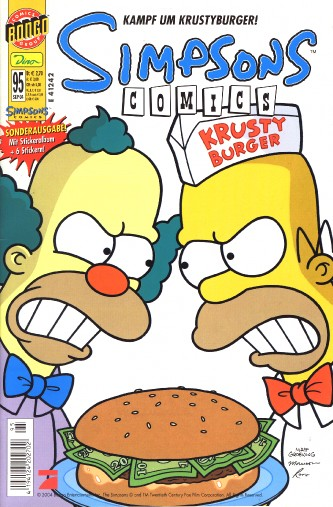 Simpsons Comic Nr. 95