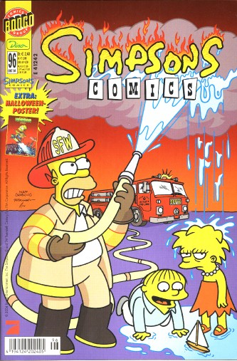 Simpsons Comic Nr. 96