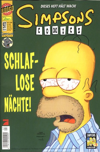 Simpsons Comic Nr. 97