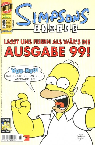 Simpsons Comic Nr. 99