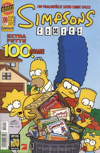 Simpsons Comic Nr. 100
