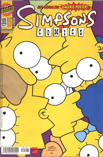 Simpsons Comic Nr. 101