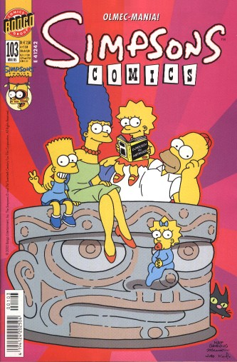 Simpsons Comic Nr. 103