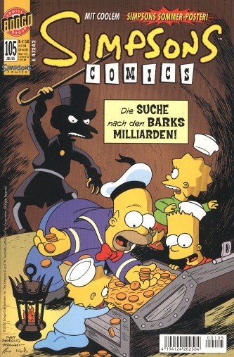 Simpsons Comic Nr. 105