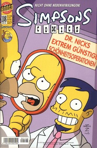 Simpsons Comic Nr. 108