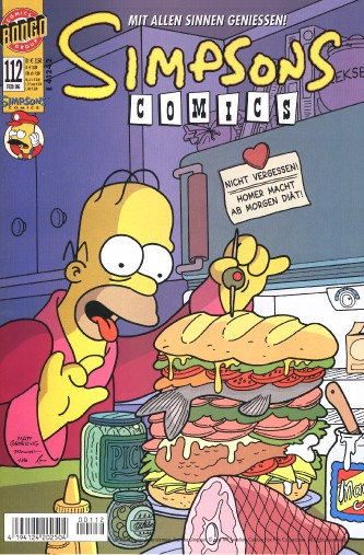 Simpsons Comic Nr. 112