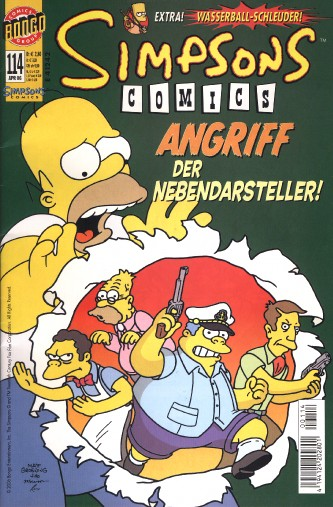 Simpsons Comic Nr. 114