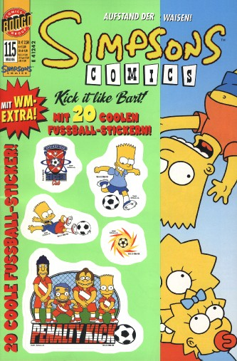 Simpsons Comic Nr. 115