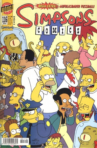 Simpsons Comic Nr. 116