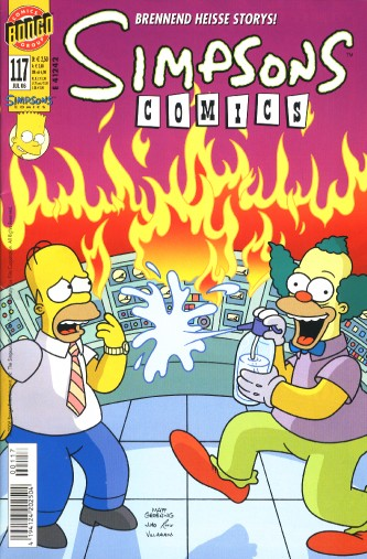 Simpsons Comic Nr. 117