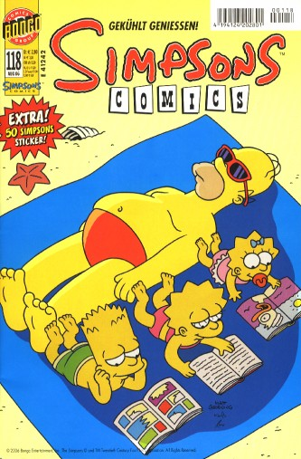 Simpsons Comic Nr. 118