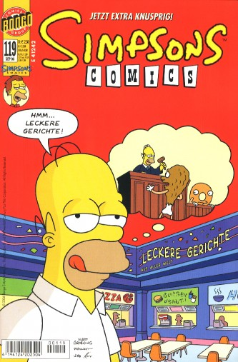 Simpsons Comic Nr. 119