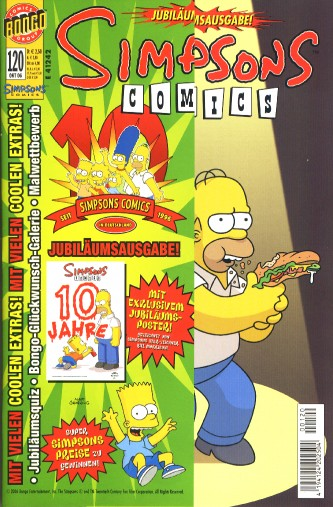 Simpsons Comic Nr. 120