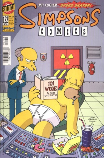 Simpsons Comic Nr. 122