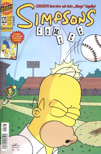 Simpsons Comic Nr. 123