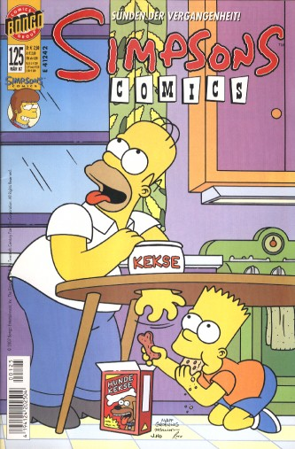 Simpsons Comic Nr. 125