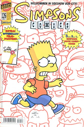 Simpsons Comic Nr. 126