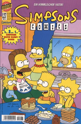 Simpsons Comic Nr. 127