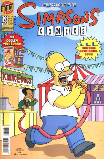 Simpsons Comic Nr. 128