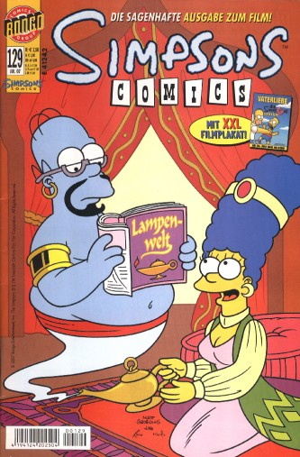 Simpsons Comic Nr. 129