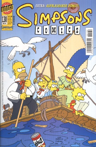 Simpsons Comic Nr. 130