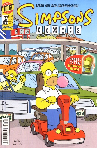 Simpsons Comic Nr. 132