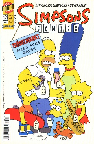 Simpsons Comic Nr. 133