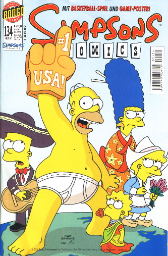 Simpsons Comic Nr. 134