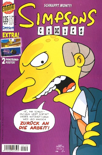 Simpsons Comic Nr. 135
