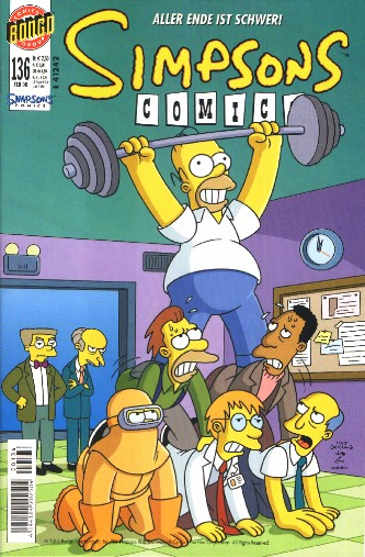 Simpsons Comic Nr. 136
