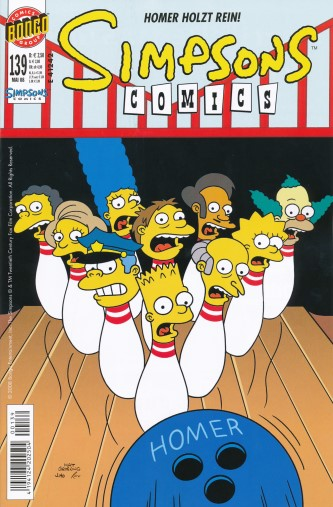 Simpsons Comic Nr. 139