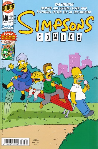 Simpsons Comic Nr. 140