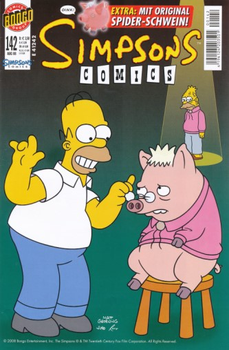Simpsons Comic Nr. 142