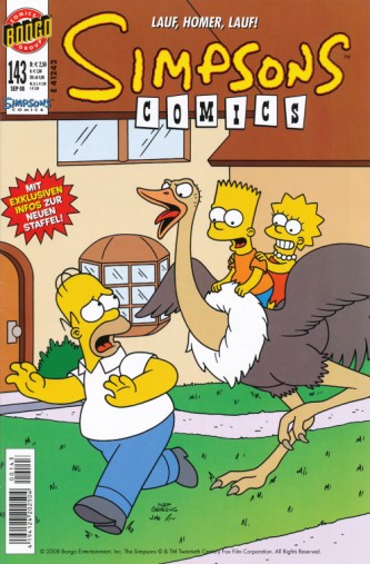 Simpsons Comic Nr. 143