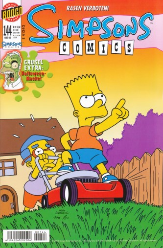 Simpsons Comic Nr. 144