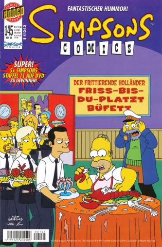 Simpsons Comic Nr. 145