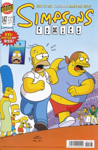 Simpsons Comic Nr. 147